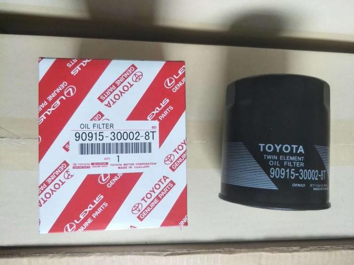 Toyota Engine Oil Filter 90915-30002-8T Land Cruiser